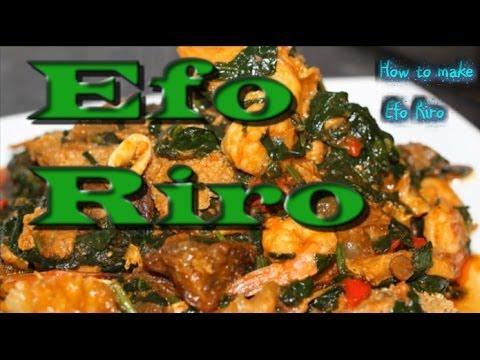 Efo Riro with Assorted | Nigerian food | Nigerian Cuisine