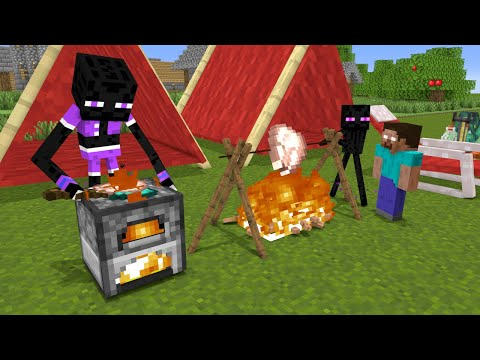 Monster School : Memorable Picnic - Funny Minecraft Animation