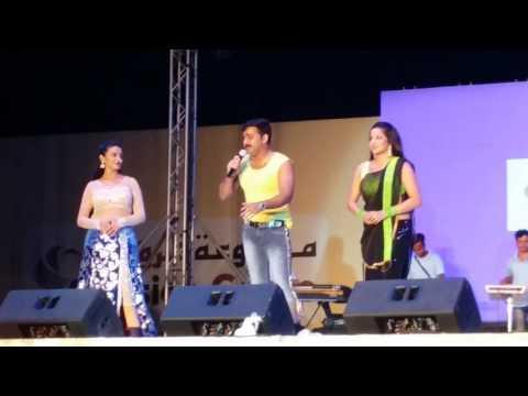 Video Pawan singh with akshra singh & Monalisa Hindi bhojpuri Star Night doha qatar 12 Sep 2016 download in MP3, 3GP, MP4, WEBM, AVI, FLV January 2017