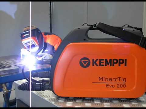1~ Phase Portable DC TIG Welding | MinarcTig™ Evo 200 & 200MLP Video Image