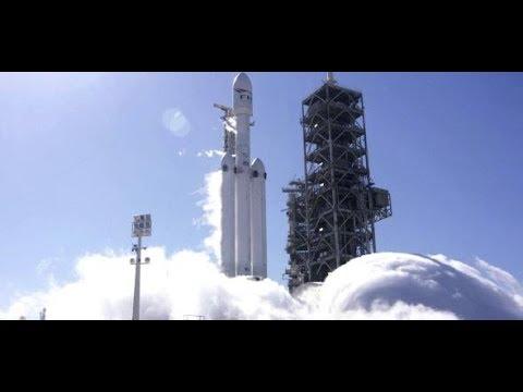 """SpaceX will zum Mars: """"Falcon Heavy"""" ist die stärkste ..."""