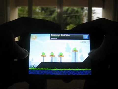 Performa Nexian Cosmic Journey Saat Memainkan Game Angry Birds