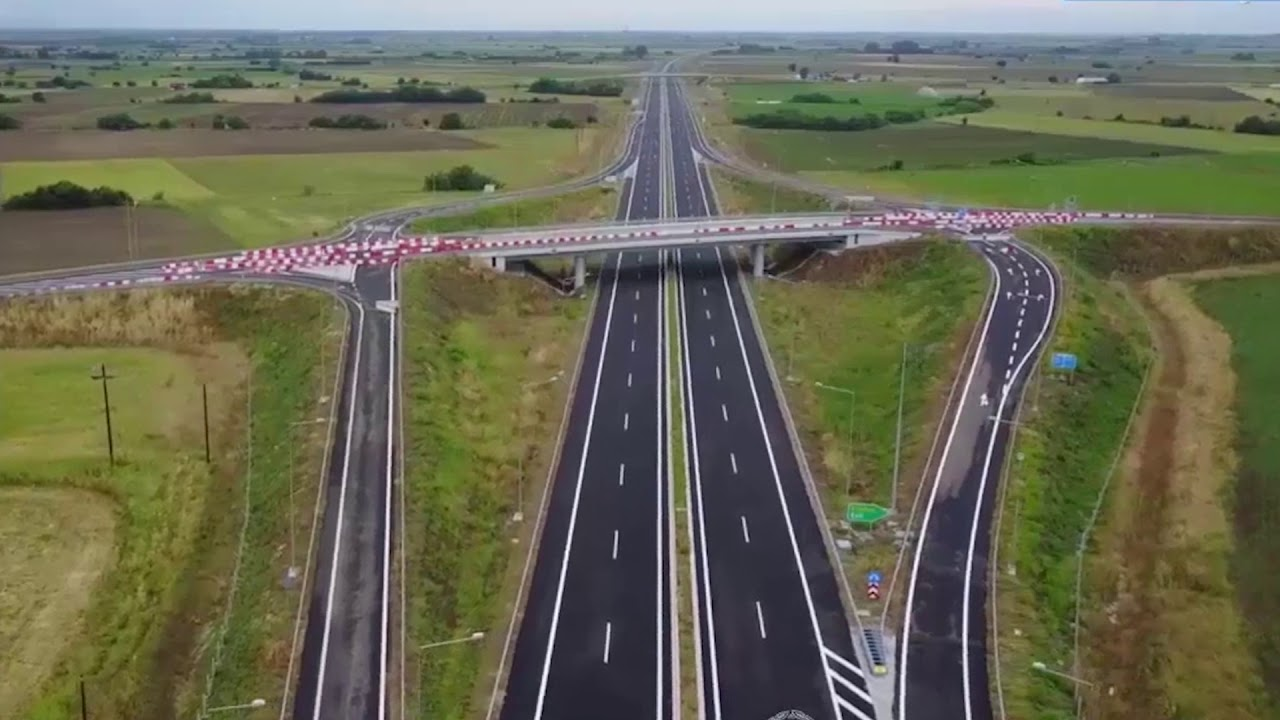 Ολοκλήρωση των πέντε μεγάλων αυτοκινητοδρόμων της χώρας