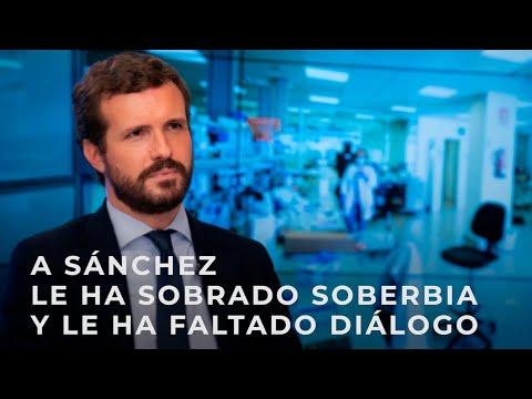 A Sánchez le ha sobrado soberbia y le ha faltado diálogo