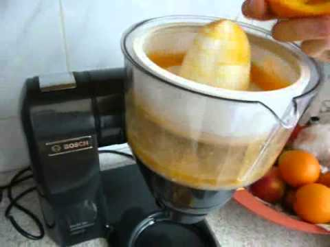BOSCH MUM86A1 - citrus juicer attachment