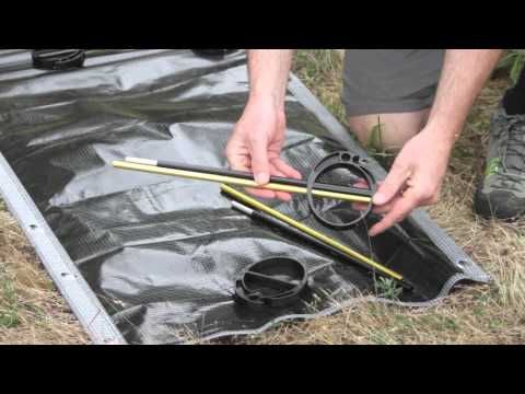 Therm-a-Rest UltraLite Cot Setup Instructions