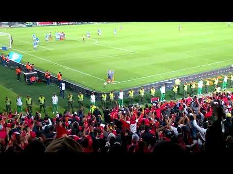 Ya Vas A Ver Una Banda... Tribuna americana en el #TorneoFoxSportsCol - Baron Rojo Sur - América de Cáli