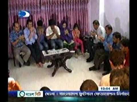 Jamaat Dhaka City Press. Jamaat Leader Visit Elias Ali Home