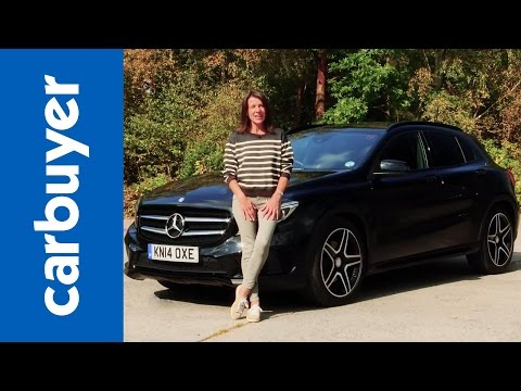 Mercedes - Mercedes GLA SUV 2014 review: http://bit.ly/MUCORJ Subscribe to the Carbuyer YouTube channel: http://bit.ly/17k4fct Subscribe to Auto Express: http://subscribe.autoexpress.co.uk/cb The Mercedes...