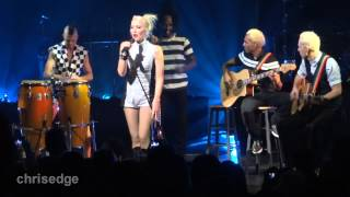 HD - No Doubt Live! Simple Kind Of Life (Acoustic) 2012-11-24 Gibson Amphitheatre Universal City, CA