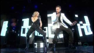 Video 03. Madonna feat Justin Timberlake - 4 Minutes [Live at Hard Candy Promo Tour] MP3, 3GP, MP4, WEBM, AVI, FLV September 2018