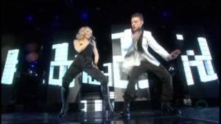 Video 03. Madonna feat Justin Timberlake - 4 Minutes [Live at Hard Candy Promo Tour] MP3, 3GP, MP4, WEBM, AVI, FLV Juli 2018