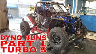 8. 2018 POLARIS RZR XP TURBO S DYNO RUNS PART 1