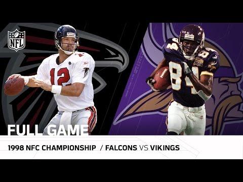 Video: 1998 NFC Championship Game: Atlanta Falcons vs. Minnesota Vikings| NFL Full Game