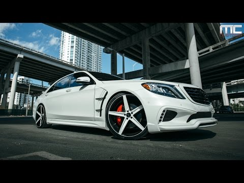 MC Customs | Mercedes-Benz S550 · Savini Wheels