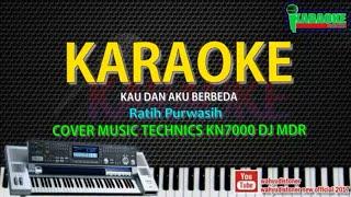 Karaoke Ratih Purwasih - Kau Dan Aku Berbeda (Malam Berbintang) Manual KN7000 DJ MDR HD Quality 2018
