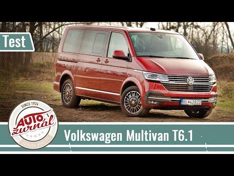 Volkswagen Multivan T6.1 2.0 BiTDI 4Motion TEST (Autožurnál TV): Nový nie je len displejmi