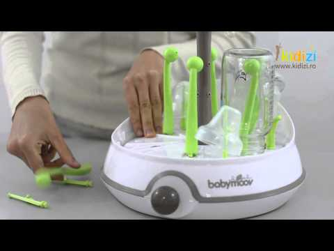 Prezentare video Babymoov sterilizator Turbo Zen
