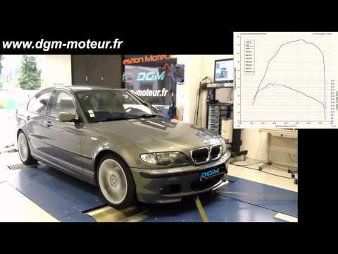 REPROGRAMMATION BMW E46 320D 150ch - Dijon Gestion Moteur