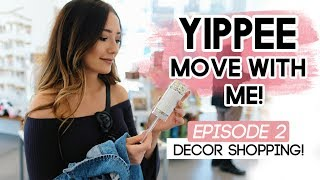 Home Decor Shopping In LA On A Budget! | YIPPEE Move With Me!