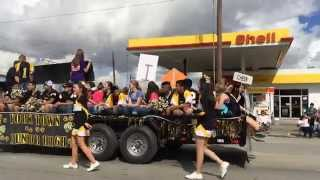 Yorktown (TX) United States  City new picture : Yorktown Western Day -2014 Parade - Junior High Football