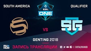 Sacred vs SG-eSports, ESL One Genting SA Qualifier, game 1 [Lum1Sit]