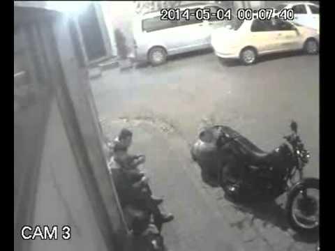 Beşiktaş'da motor hırsızlığı