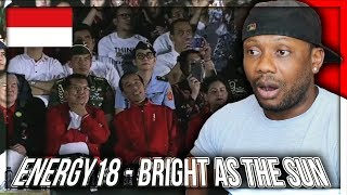 Energy18 - Bright As The Sun - Official Song Asian Games 2018 REACTION!!!