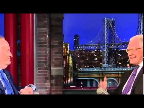 Bill O'Reilly on David Letterman   March 25th 2015   Full Interview HD