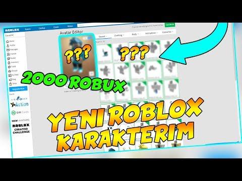 2000 ROBUXLUK YENİ KARAKTERİM / Roblox Jailbreak / Roblox Türkçe / FarukTPC