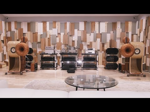 Listen to a ONE MILLION DOLLAR hi-fi system from Aries Cerat!