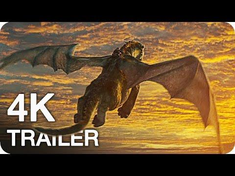 PETE'S DRAGON Trailer 2 + 1 4K UHD (2016) Disney