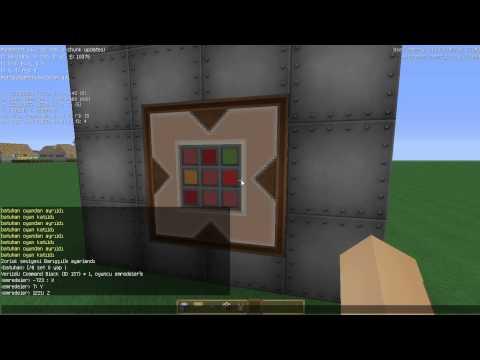 Minecraft Komut Bloğu İle Asansör Yapımı basittir herkes yapabilir.