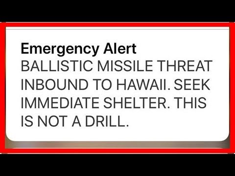 Fox News - Hawaii officials confused the domestic missile warning
