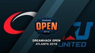 compLexity vs eUnited - DreamHack Open Atlana 2018 - bo1 - de_mirage [ceh9]
