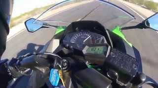 8. Ninja 300 Top Speed MPH
