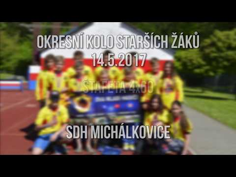 Okresní kolo starších žáku 14.5.2017 - SDH Michálkovice