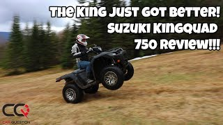 4. ATV Review : The Suzuki KingQuad 750 | An improved and reliable ATV!