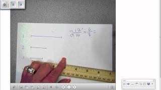 how to read a 100ths ruler
