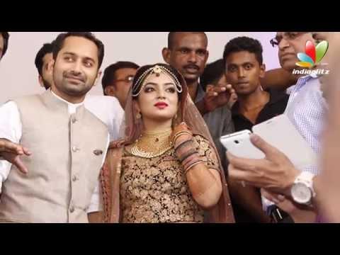 Nazriya and Fahad Wedding Reception | Nikkah Photos