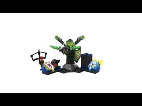 Конструктор Аарон – Абсолютная сила - LEGO NEXO KNIGHTS - фото № 6