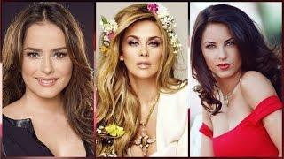 Las 25 mujeres mas BELLAS de telenovelas