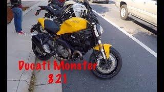 8. Ducati Monster 821 Review