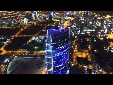 United Tower in Kuwait By Phantom 3 - high altitude