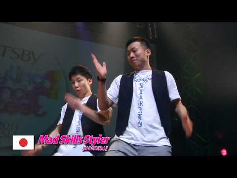 【GDC 3rd】GATSBY DANCE COMPETITION 2010-2011:JAPAN FINAL/Mad Skills Styler