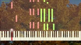 Вальс Бостон - А.Розенбаум (Джаз вариация)(Ноты и Видеоурок для фортепиано) (piano cover)