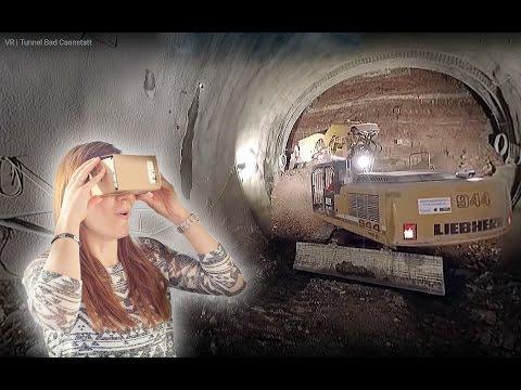 Der Tunnel Bad Cannstatt in virtueller Realität