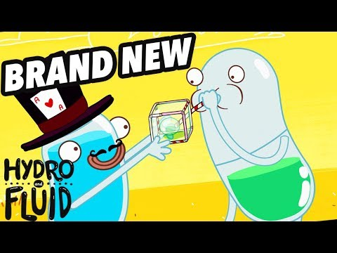 HYDRO And FLUID | Detergent, Glycerin And Bubbles | NEW EPISODE | Funny Cartoons For Children