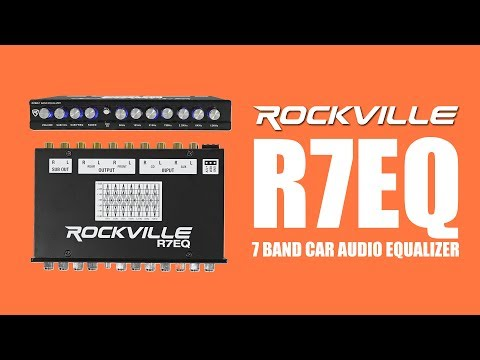 The Rockville R7EQ Is The 7 Band Car Audio Equalizer That Gives You Complete Control  (DEMO With K9)