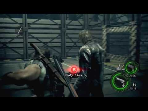 33. Resident Evil 5 Walkthrough - Professional Difficulty - Chapter 6-3 Wesker Is Vulnerable